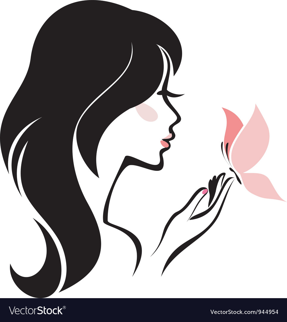 head woman royalty free vector image vectorstock rh vectorstock com vector woman face victor woman missing