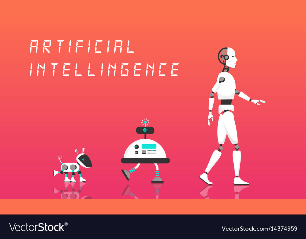 Modern robot and artificial intelligence