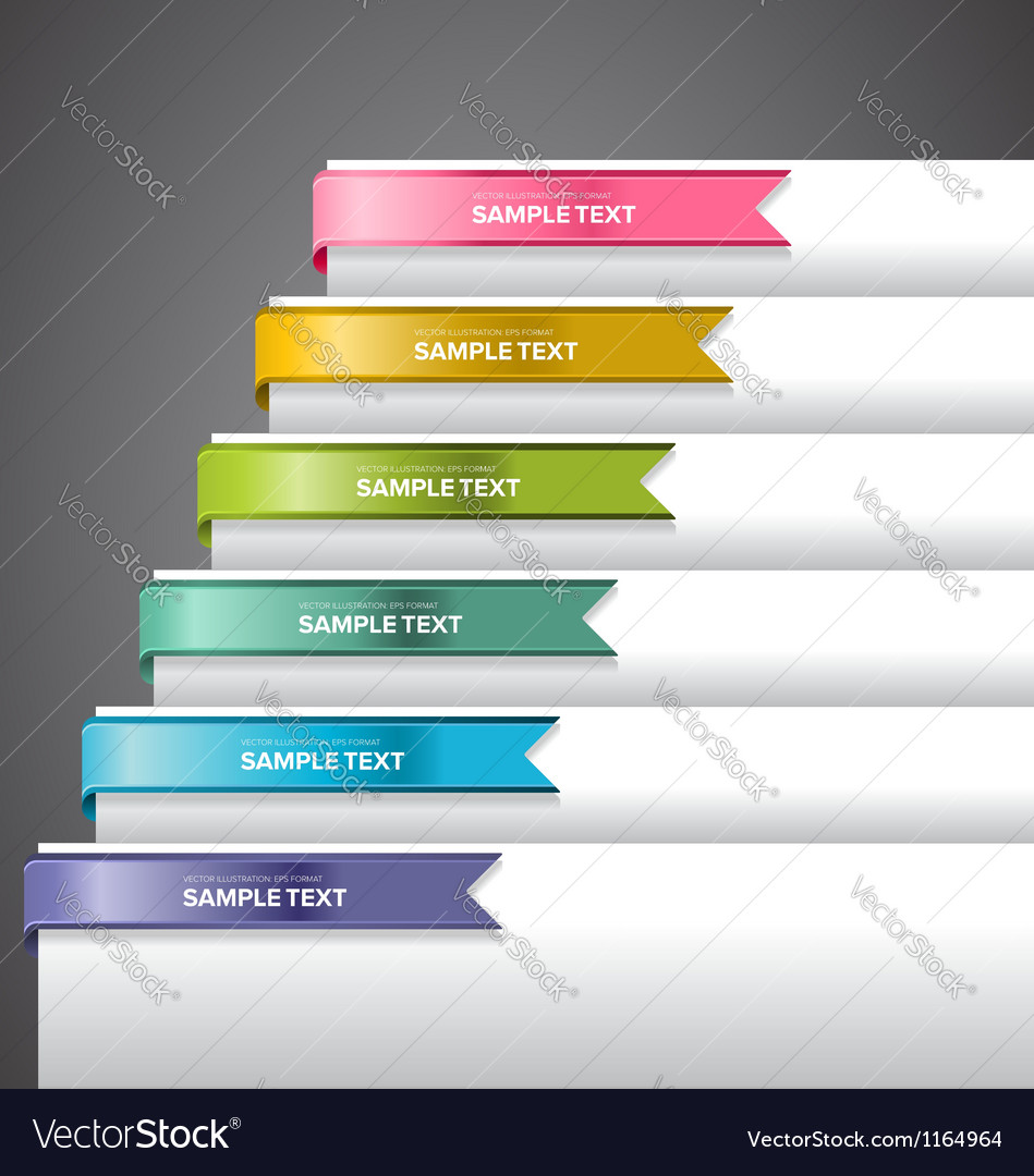 Bookmark Labels Ribbon