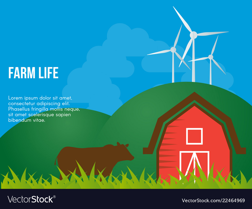 Farm life conceptual design template