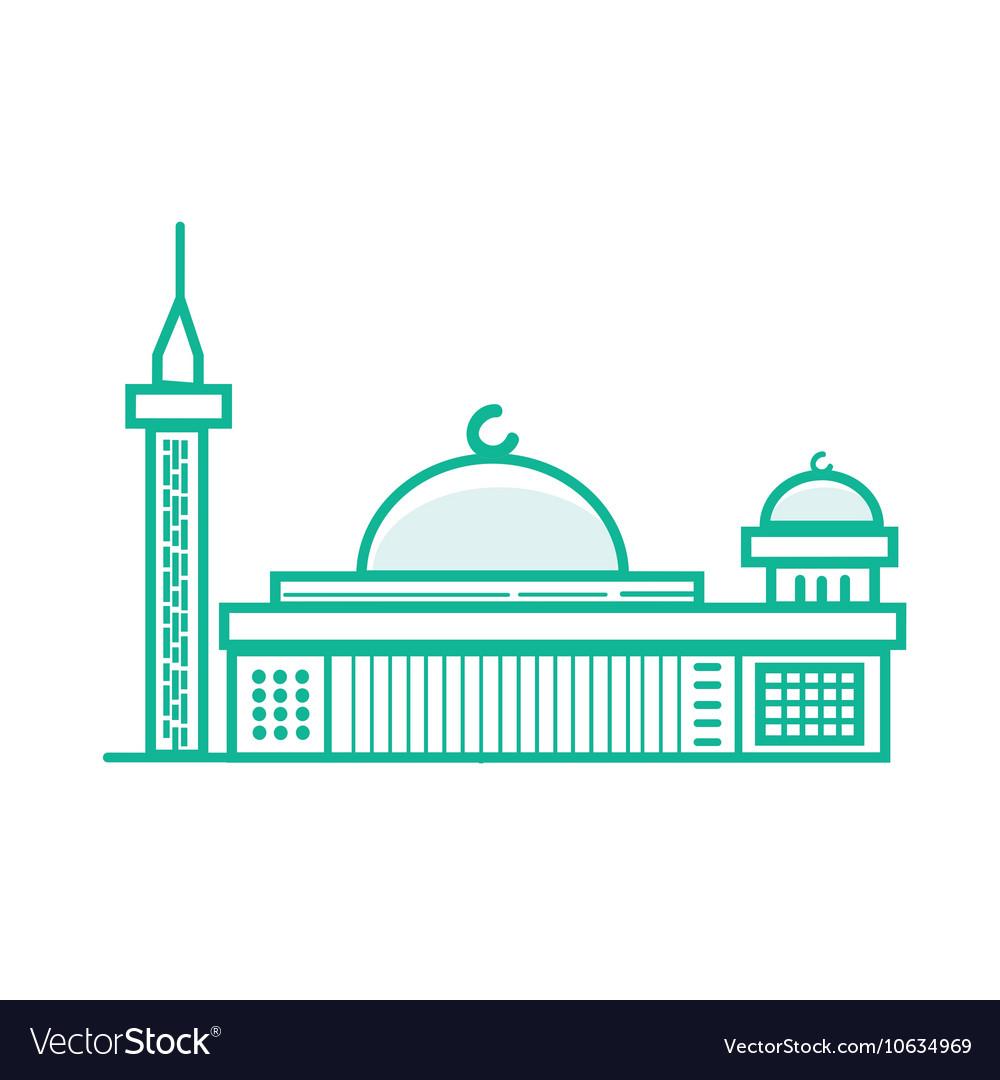 Istiqlal mosque Islam prayer building in Jakarta