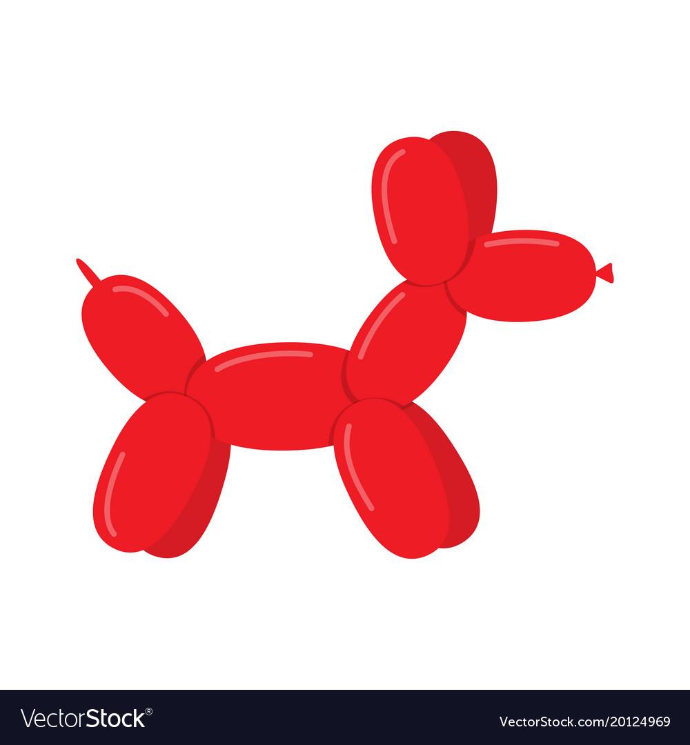 Toy dog puppy balloon