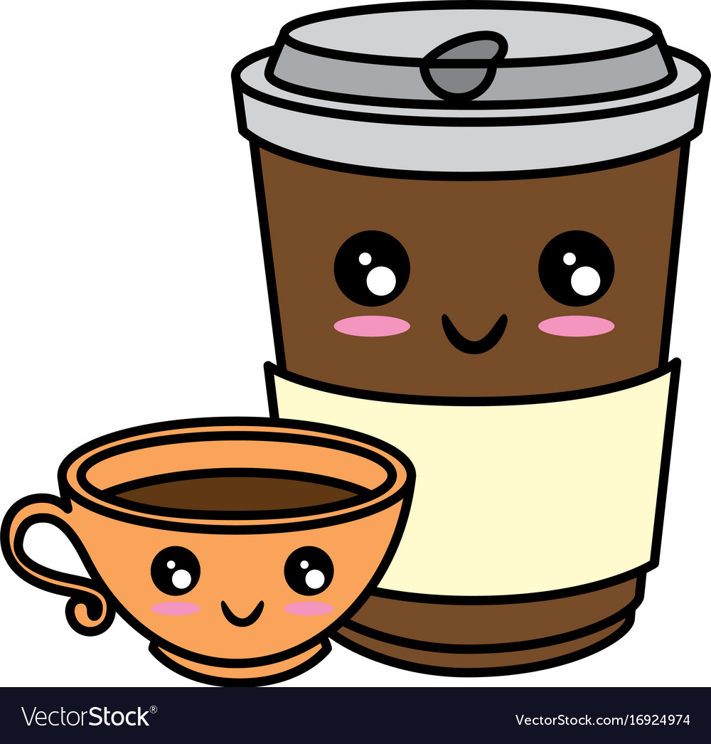 Coffee Mug Cute Faces Clip Art Set – Daily Art Hub – Free ...