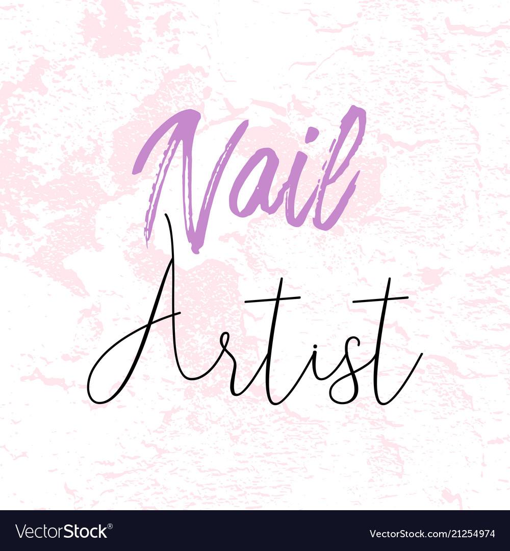 Make up artist business card royalty free vector image make up artist business card vector image colourmoves