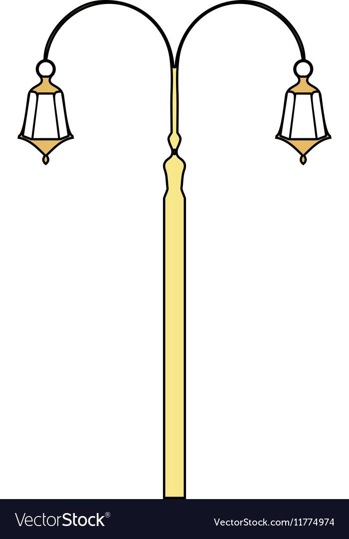 Street Light computer symbol