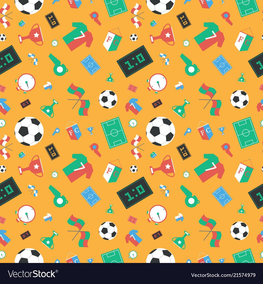 Soccer set icons