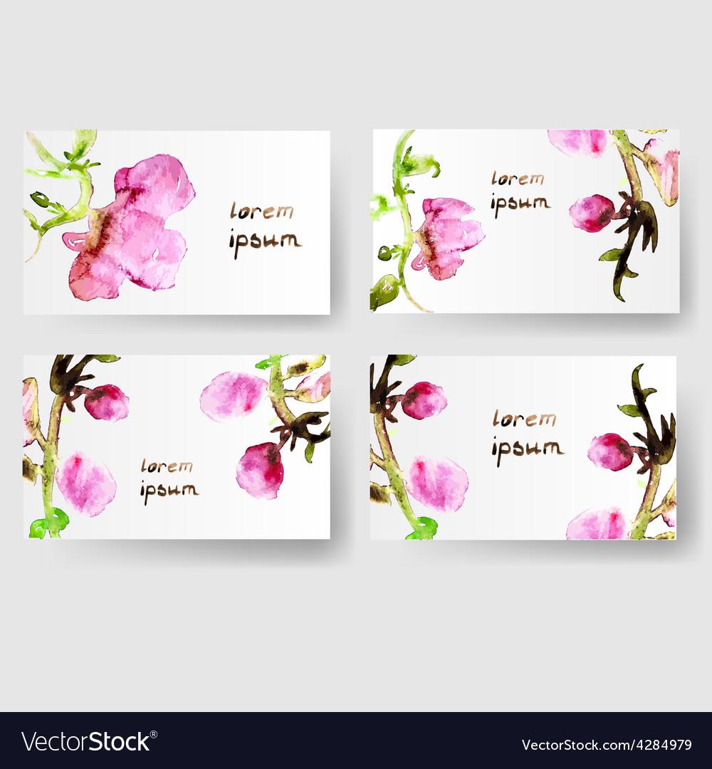 water color cards   Banya