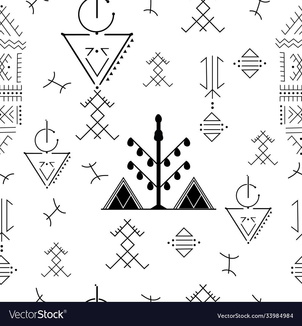 Berber tattoos