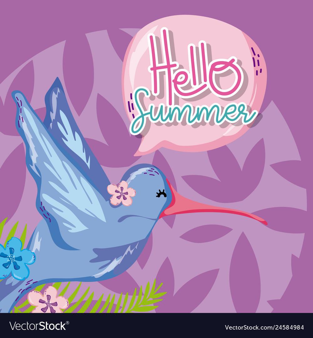 Hello summer cartoons