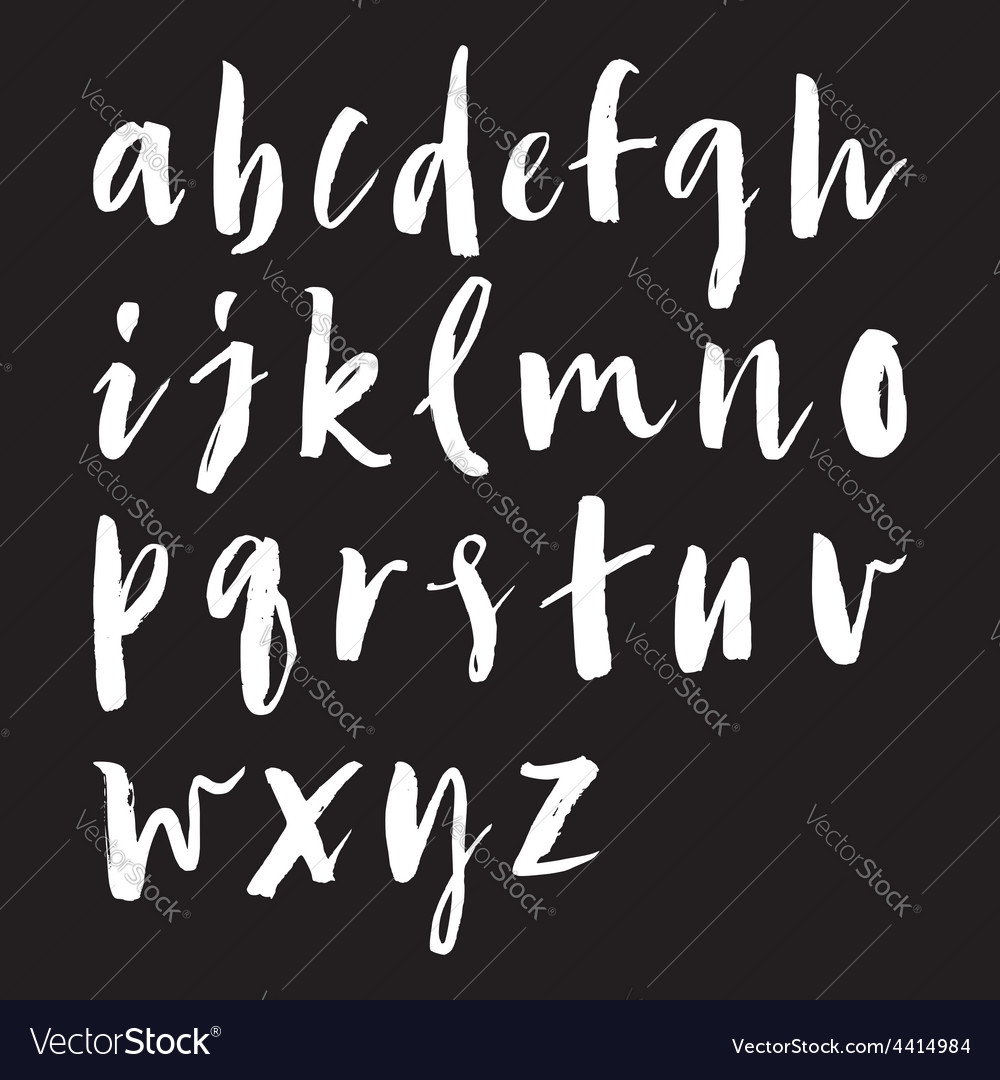 Seamless pattern letters
