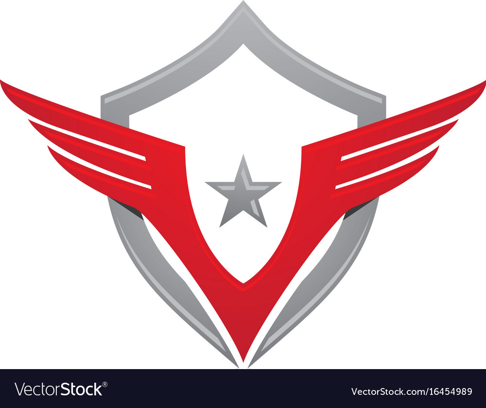Falcon eagle bird logo template icon