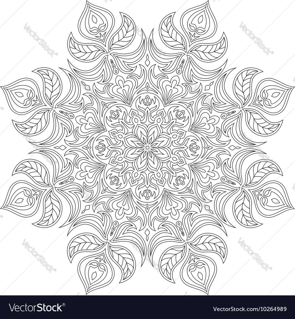 Mandala Oriental decorative element Islam Arabic