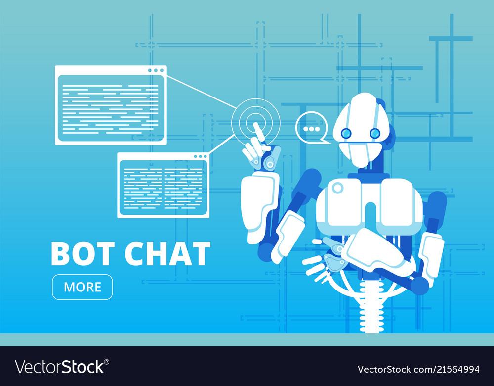 Bot chat robot supporter chatbot virtual