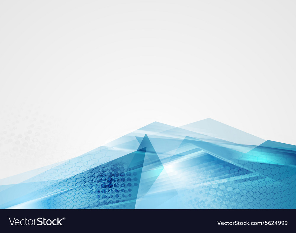 Abstract corporate blue modern background