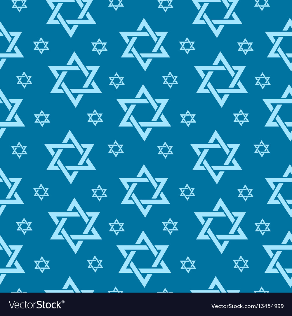 Happy israel independence day seamless pattern