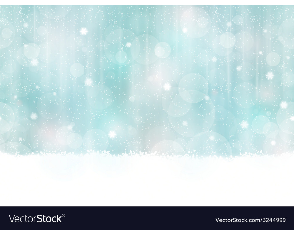 Winter Bokeh Background seamless