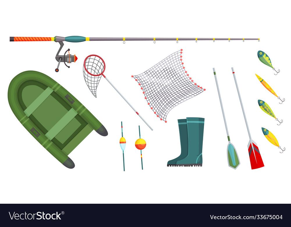 Fishing equipment outdoor vacation