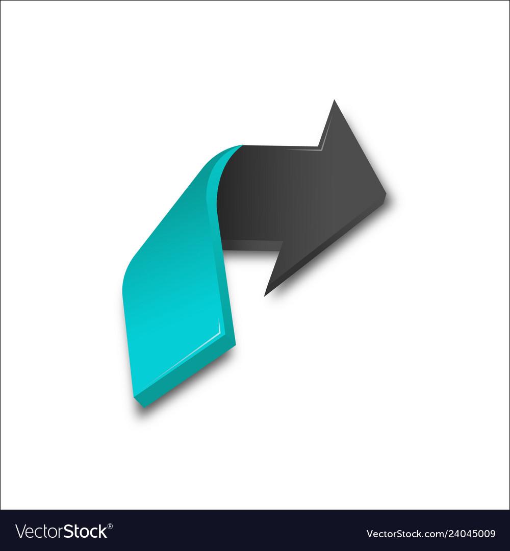 3d arrows colors