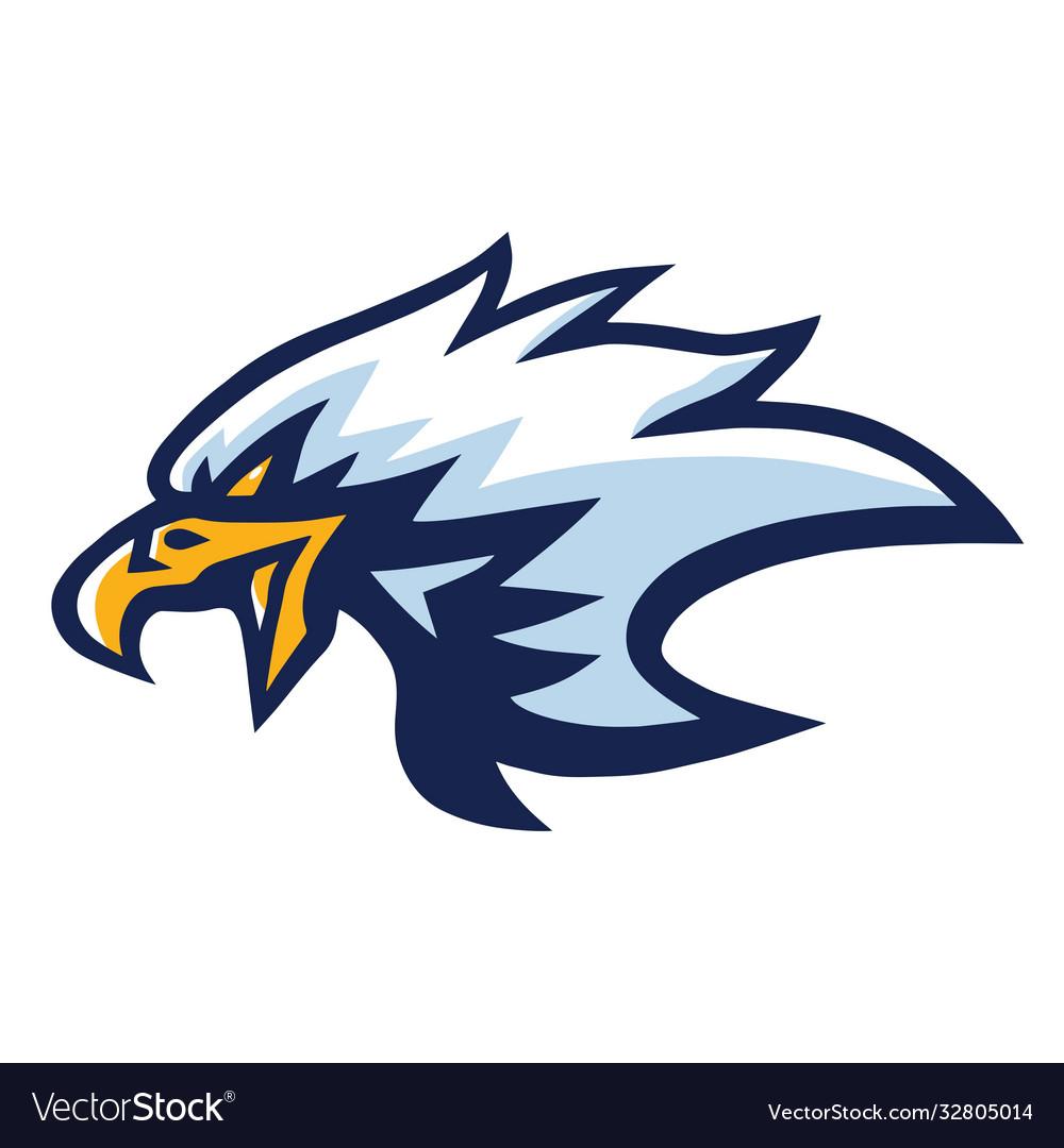 Eagle mascot logo mascot design