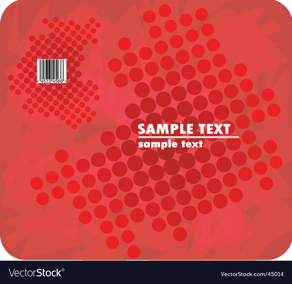 Red halftone