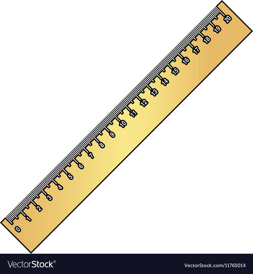Ruler computer symbol