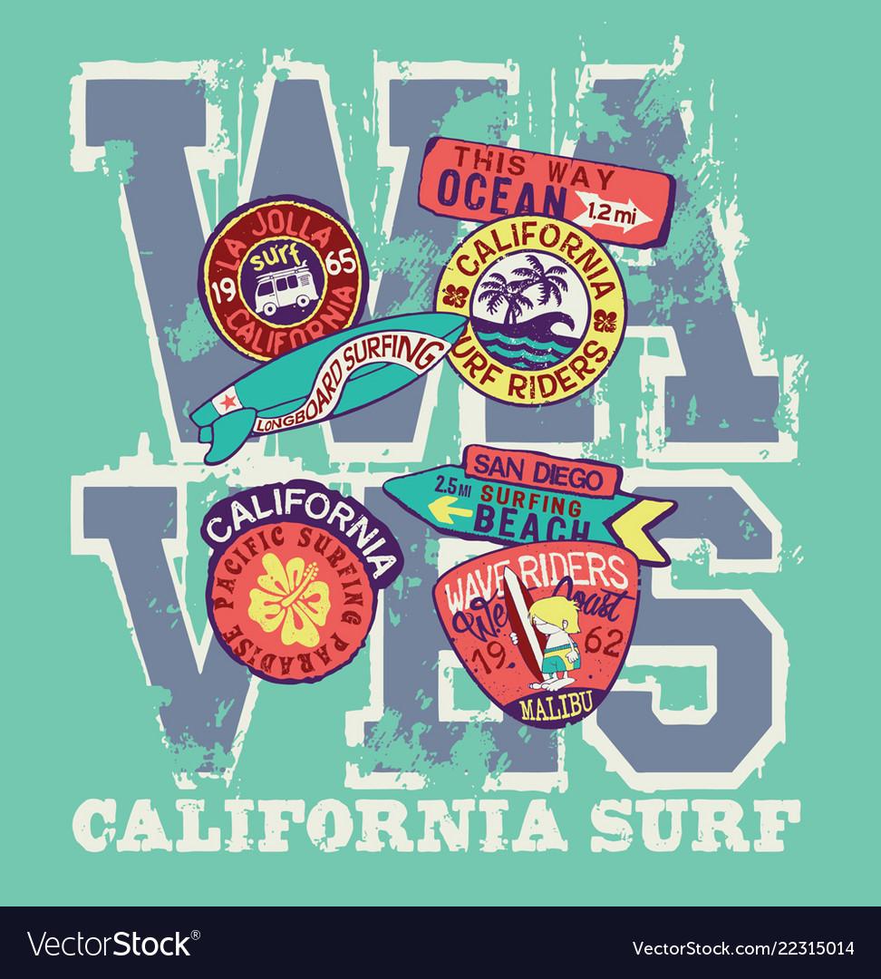 West coast california surf riders company