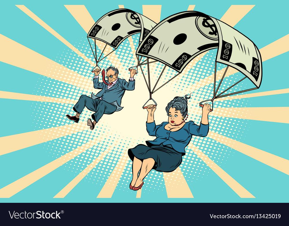 Golden parachute financial compensation