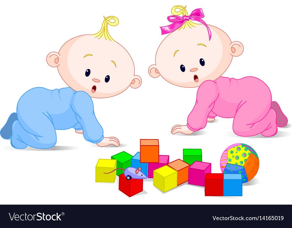 Playing babies