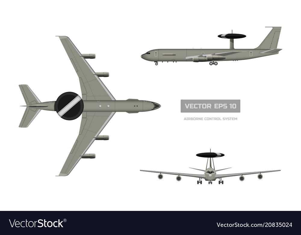 3d image of military aircraft top front and side