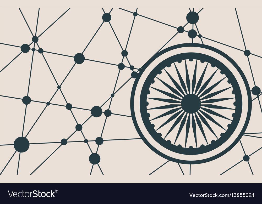 Ashoka chakra symbol