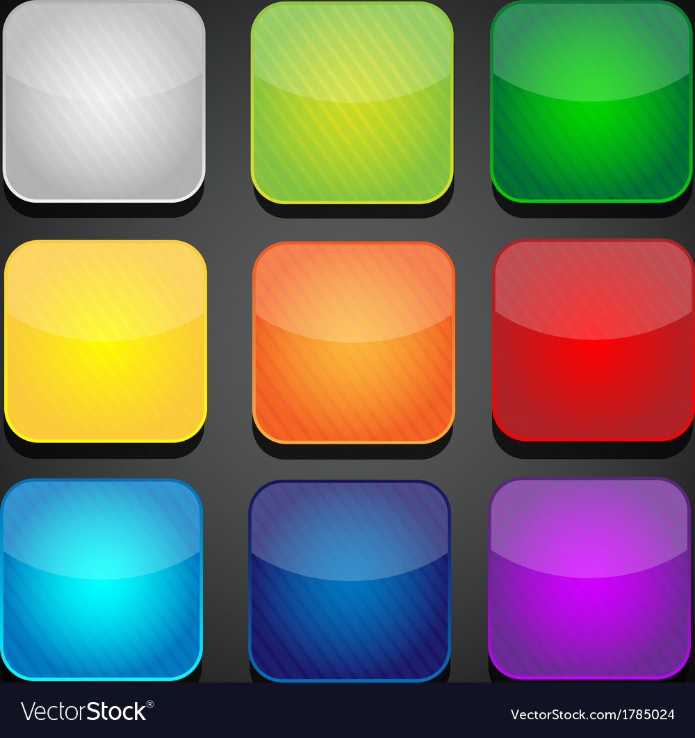 Set color apps icons - background