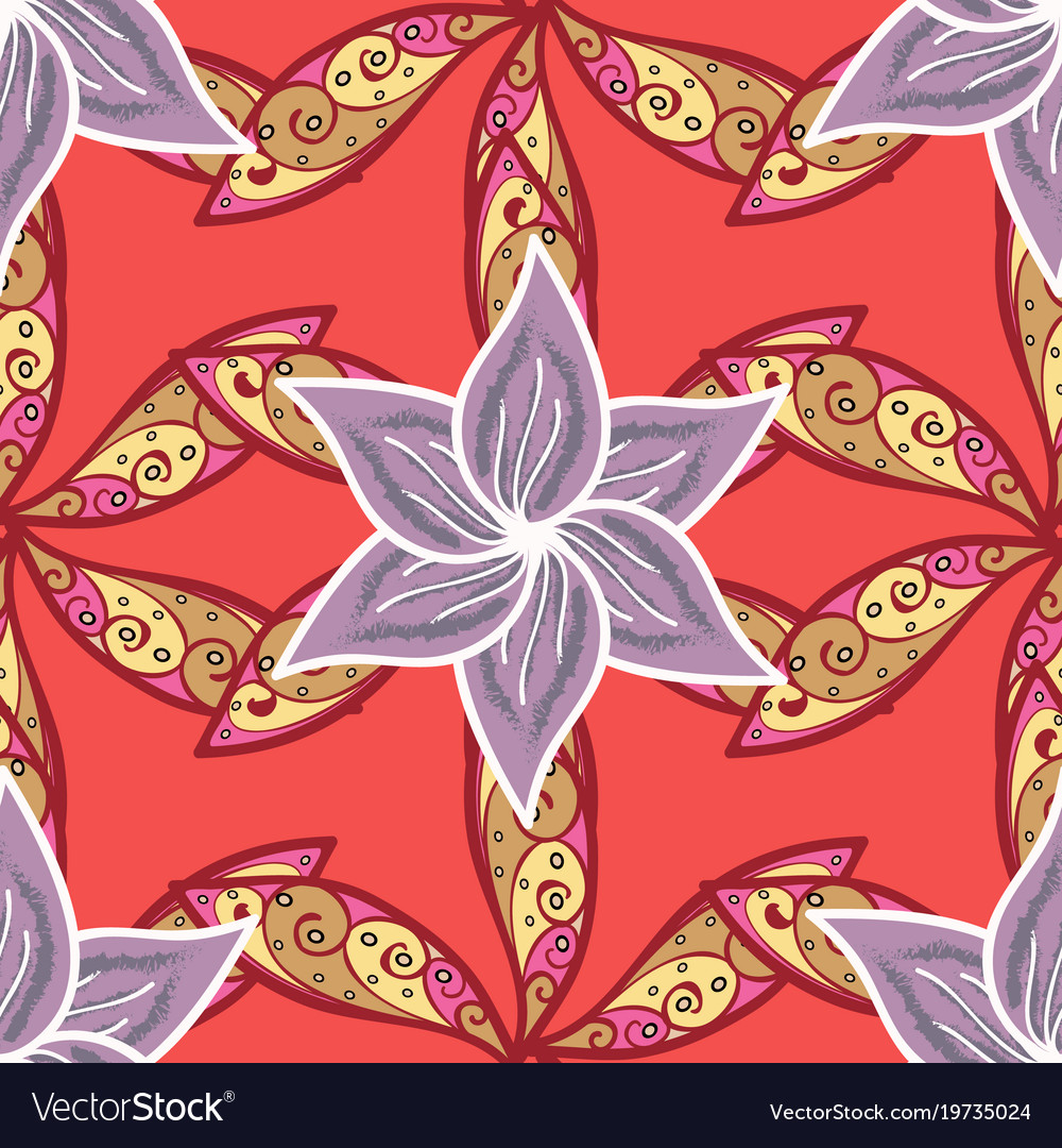 Winter coloring pages for adult art therapy hand Vector Image