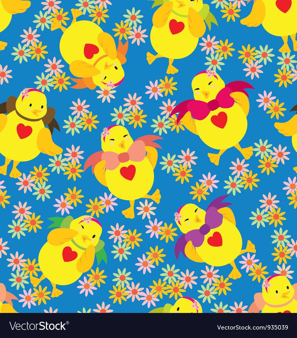 Happy Chick Pattern