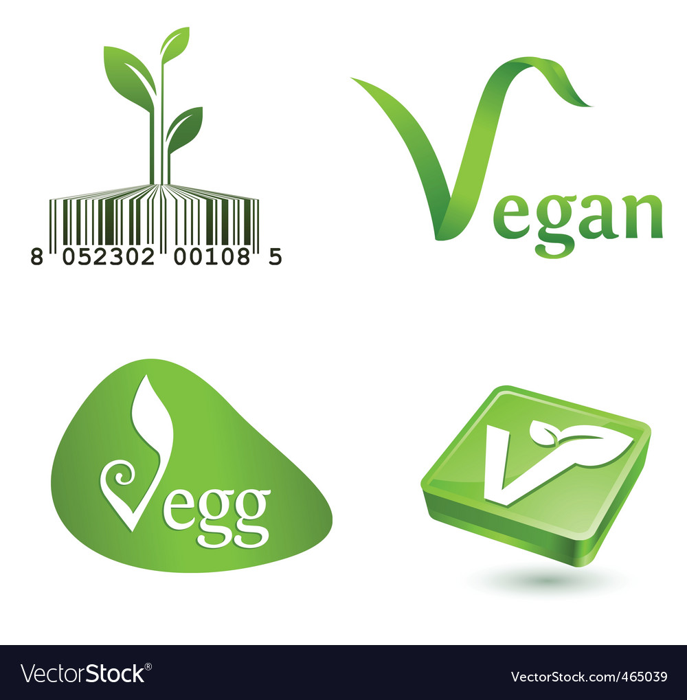 Vegetarian symbols