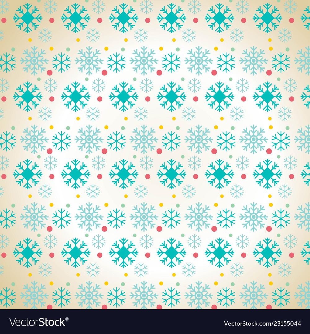 Christmas snowflake pattern background