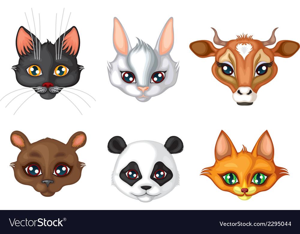 Cute animal muzzle