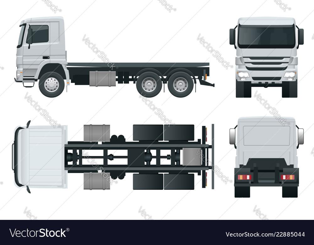 Truck tractor or semi-trailer truck combination of