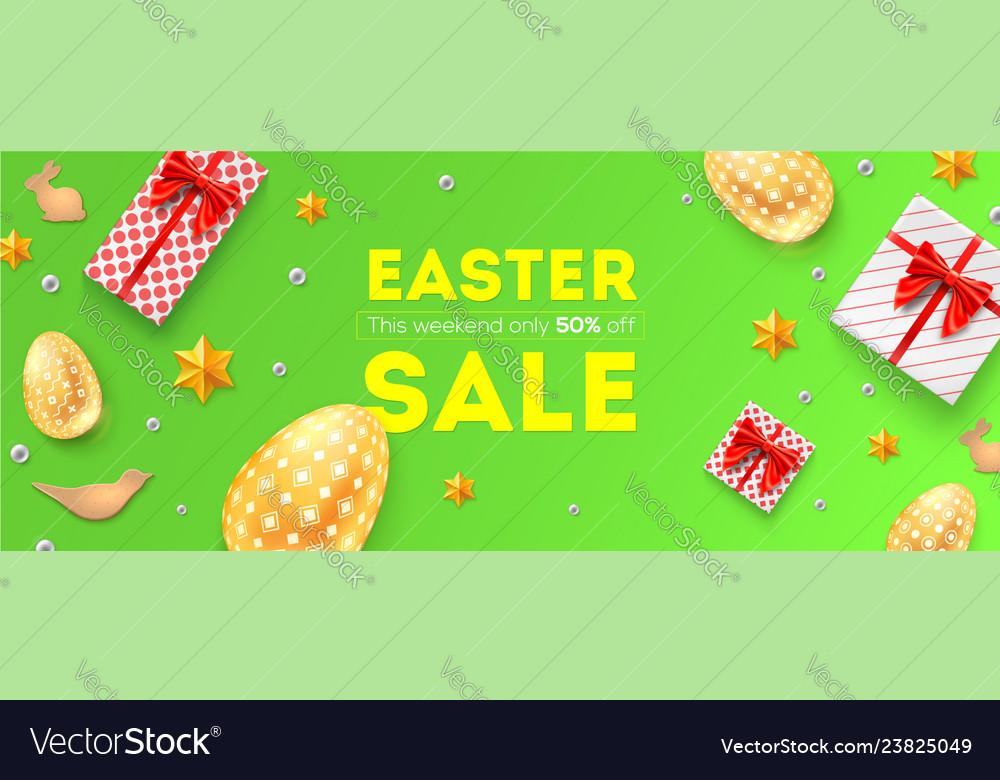 Easter sale 50 percent off holiday offer huge