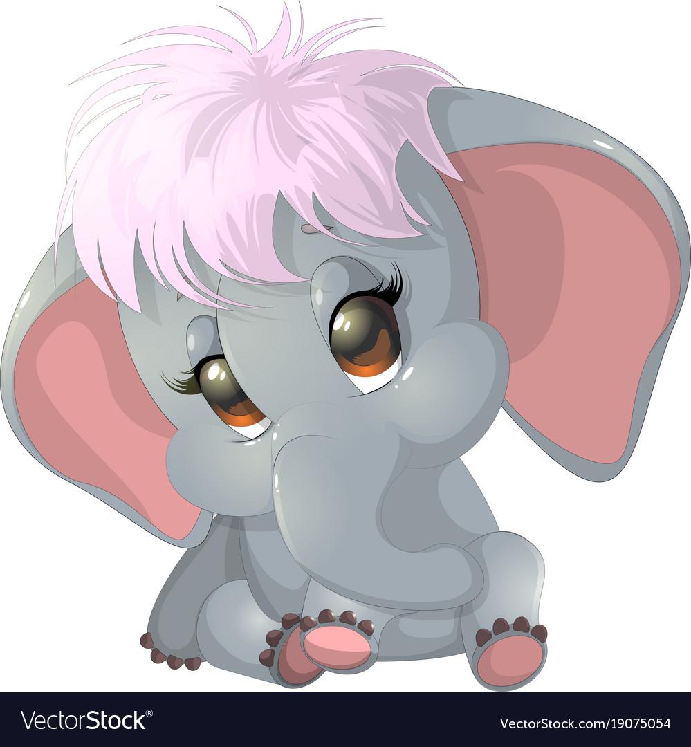 Beautiful cute elephant