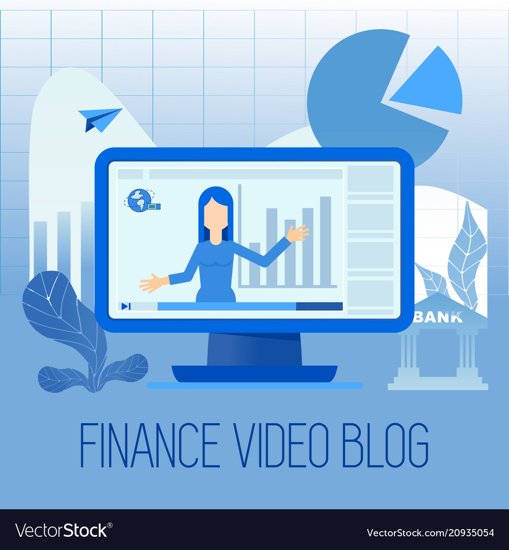 Finance video blog