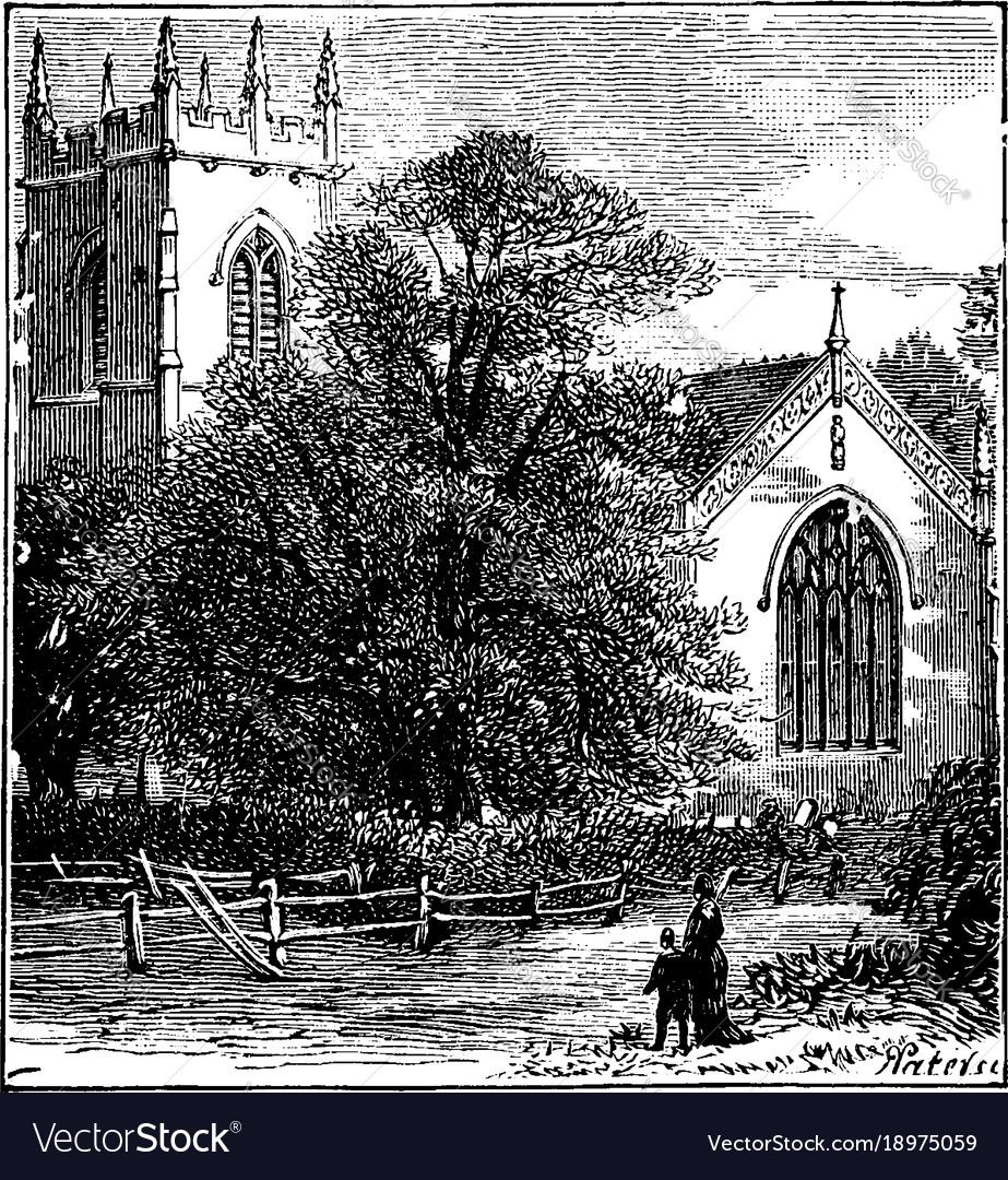 Battlefield church shrewsbury vintage