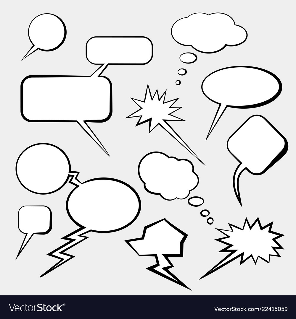 Comic cloud conversations