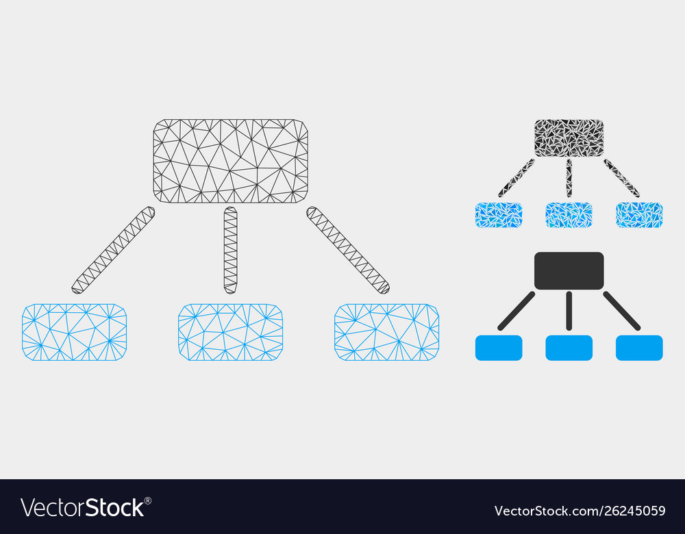 Hierarchy mesh network model and triangle