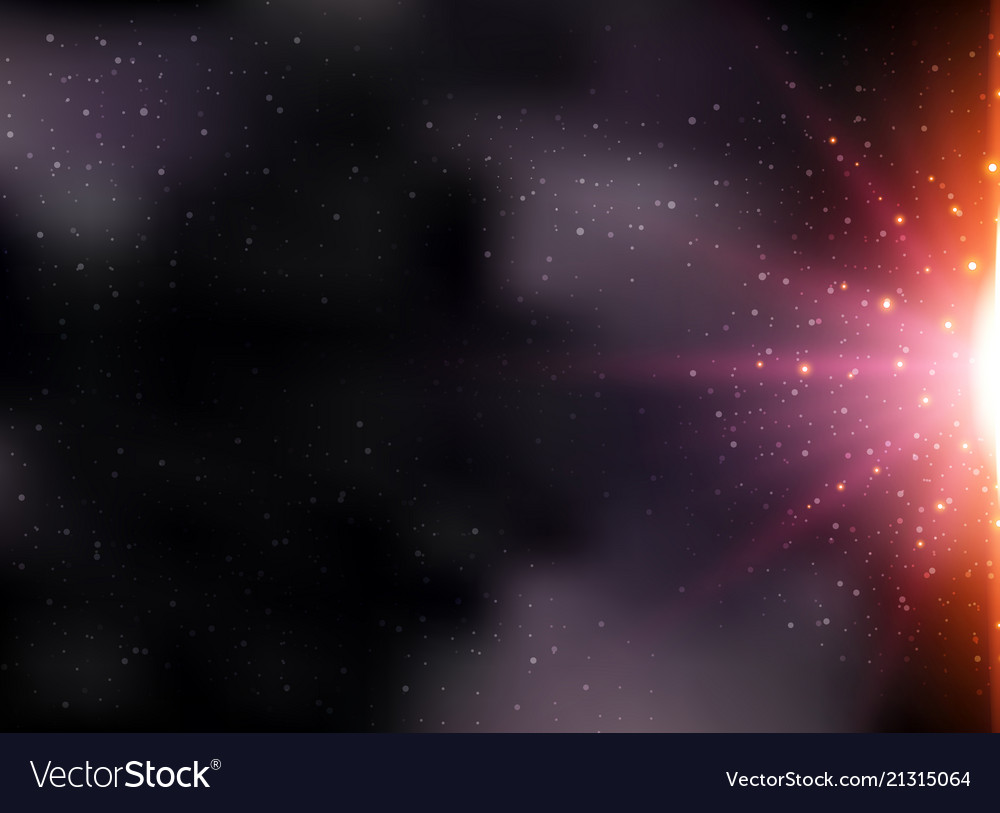 Abstract futuristic infinite universe space on