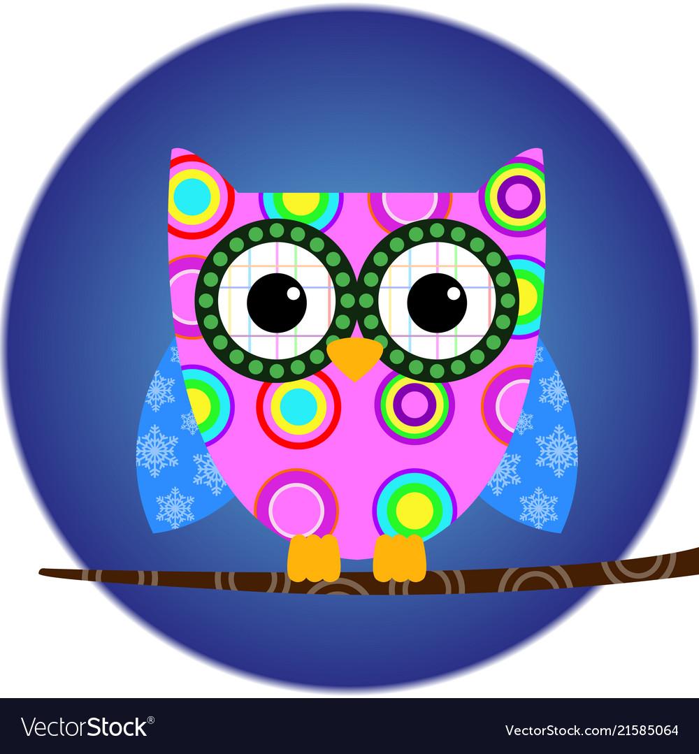 Owl animal bird cartoon