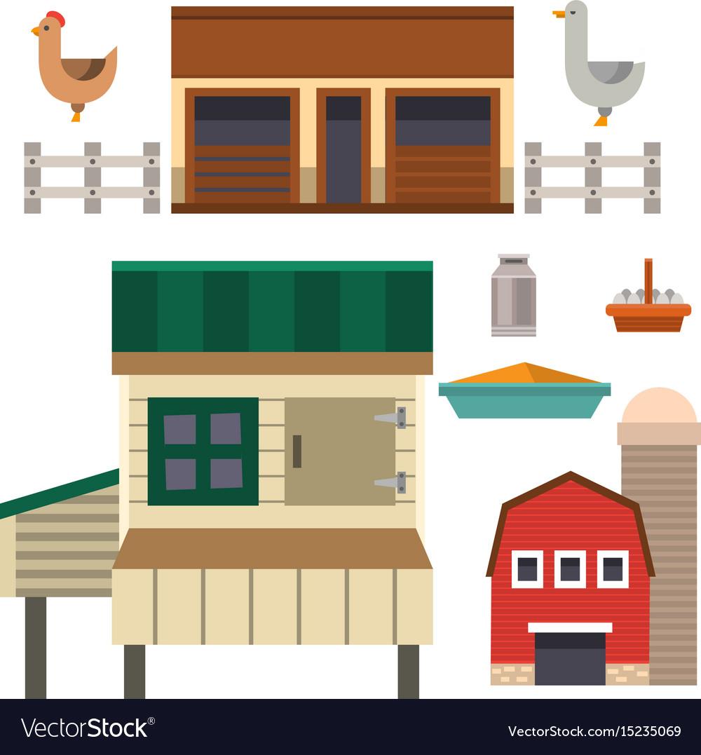 Farm house food outdoor barn building clean meadow
