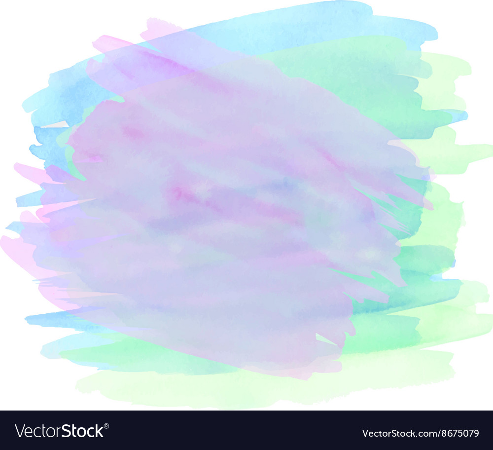 Abstract bright colorful background waterco vector image