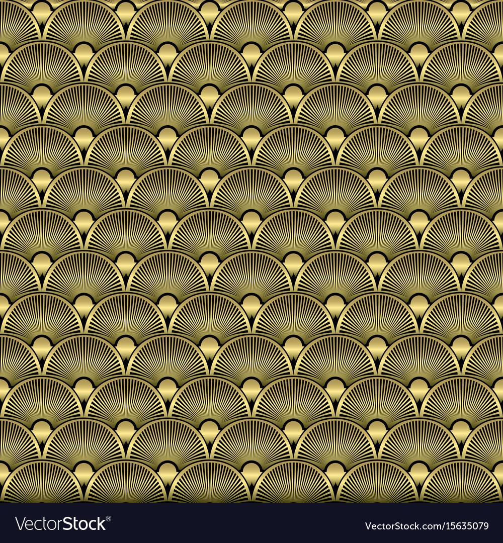 Art deco seamless pattern background
