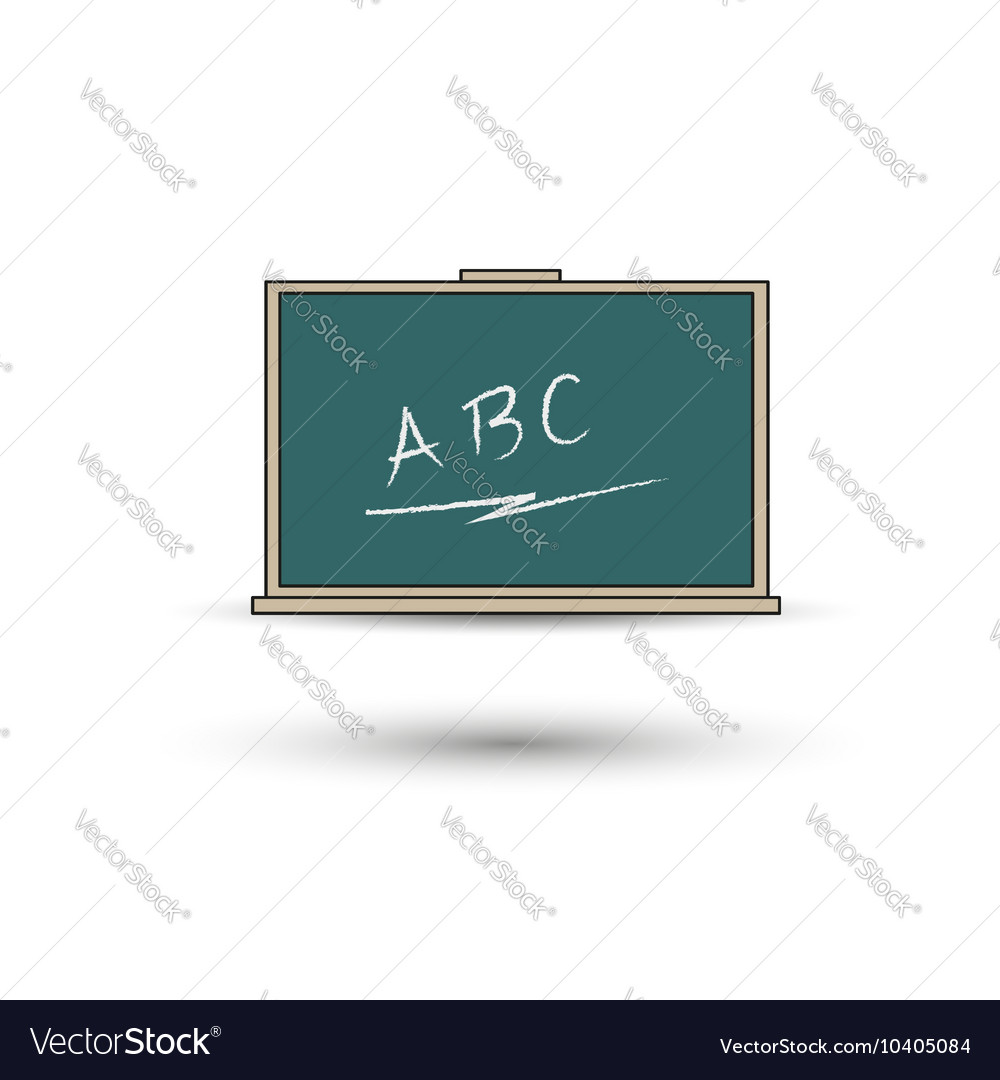 Green chalkboard eps 10