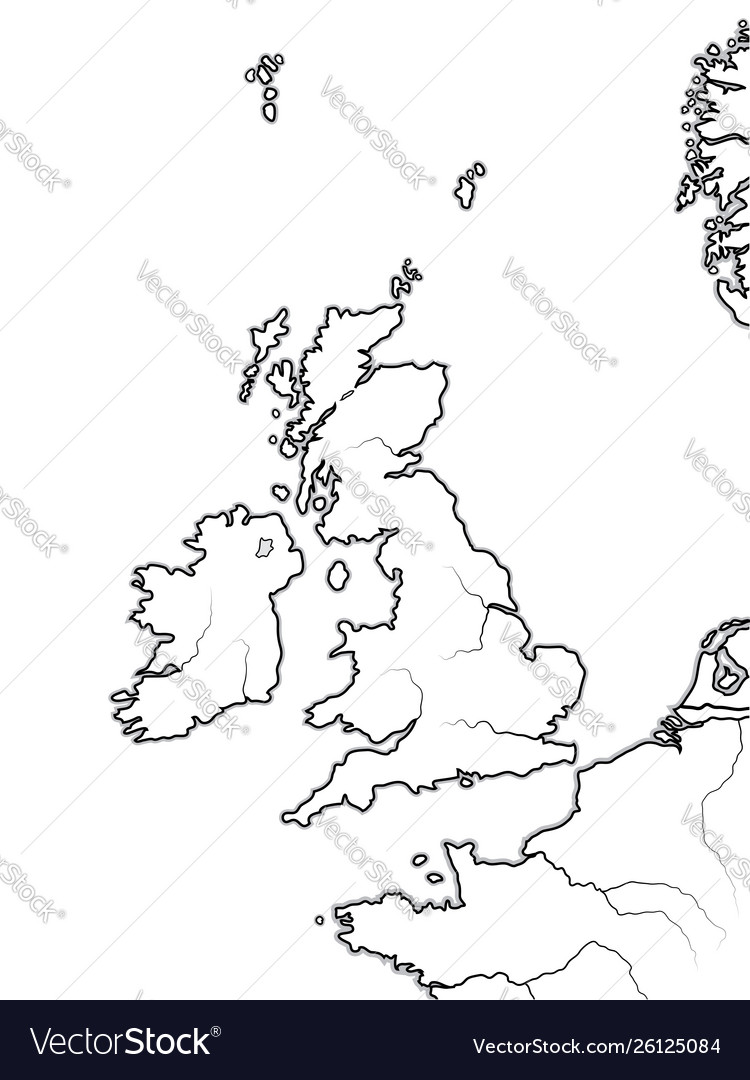 Map Of England Great Britain.Map The English Lands Uk Great Britain